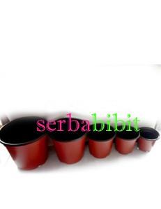 harga Pot Plastik Import 10cm (1 lusin) Tokopedia.com