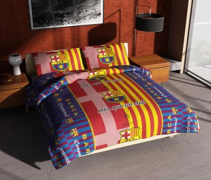 BEDCOVER SET Single 120×200 KLUB BARCELONA