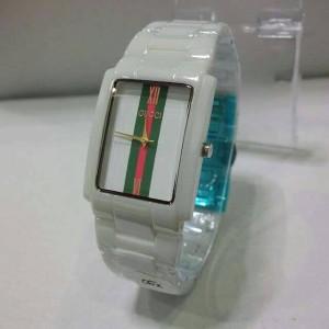 jam tangan Wanita Guci keramik 5003M