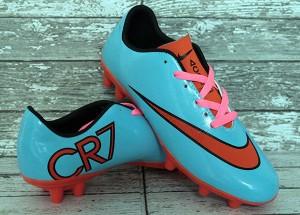 sepatu soccer / sepak bola anak nike mercurial cr 7