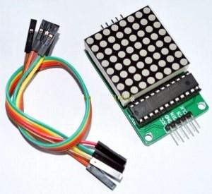 Module MAX7219 dot matrix 8x8 for Arduino