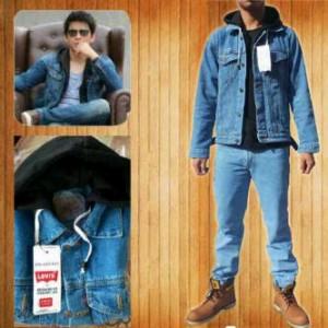 harga jaket denim jeans levis levi's kombi fleece hoodie ariel noah peterpan Tokopedia.com