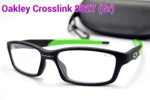 FRAME KACAMATA Oakley Crosslink 8027 (Pria/Wanita) Lensa Baca/Minus