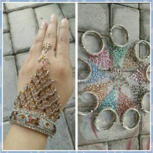 harga gelang cincin sari india panja Tokopedia.com