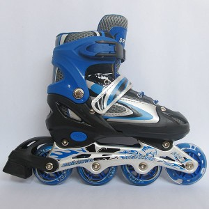 harga Sepatu Roda (Size M) Inline Skate POWER SUPERB Blue BAN KARET Tokopedia.com