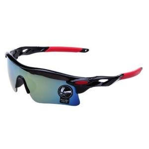 Kacamata Sepeda UV 400 Black Red