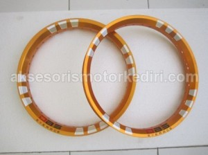 harga VELG SET DBS GOLD / YELLOW RING 14 Tokopedia.com