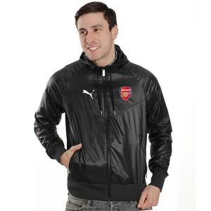Jaket Parasut Bola Arsenal