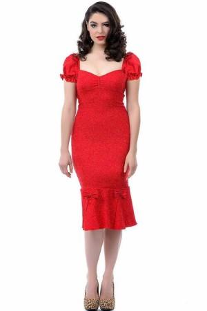 harga Big Size Mermaid Vintage Dress YSC-A0906 Tokopedia.com