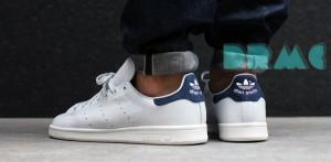 harga Adidas Stan Smith Navy Sepatu Casual Tokopedia.com