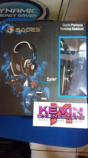 SADES SPIDER SA-922  for PS4 / PS3 / Xbox360 / PC HARGA PROMO OPENING