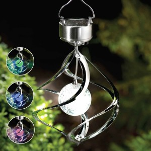 Lampu Hias/Gantung Tenaga Matahari Oasis Wind Spinner Solar Light