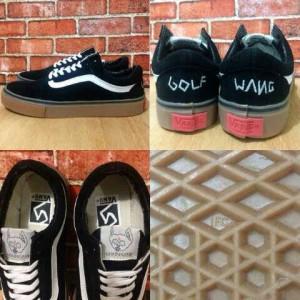 harga sepatu vans golf wang murah hitam Tokopedia.com