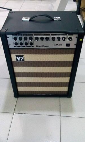 Ampli Keyboard Voice Seven VM-12