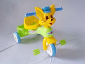harga Mainan Sepeda Roda Tiga Anak / Tricycle Kelinci Tajimaku (T982 Deluxe) Tokopedia.com