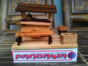 Souvenir Miniatur Gerobak Angkringan