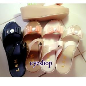 harga jelly shoes/wedges pita LSH Tokopedia.com