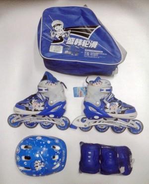 harga Sepatu Roda / Roller Blade / Inline Skate , SH1039 , Biru Tokopedia.com
