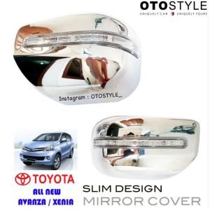 harga Mirror Cover Spion LED All new avanza / veloz / all new xenia 2012 Tokopedia.com