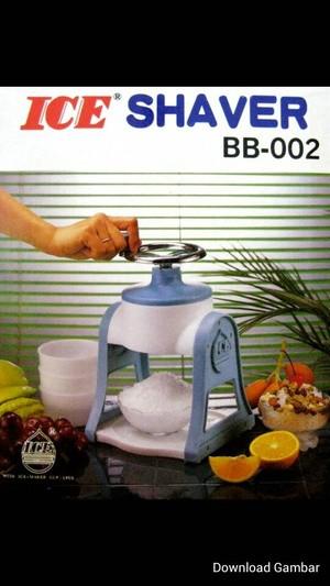 Ice Shaver Manual, Mesin Es Serut Praktis dan Murah !!