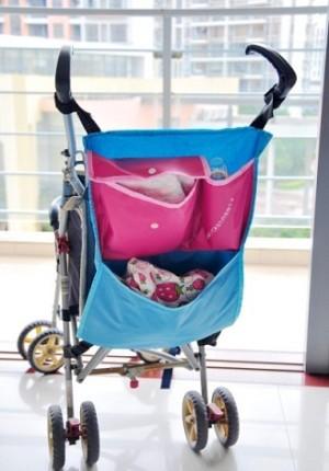 Auto seat Cover Stroller Trolley Troly Baby Bag Tas Kereta Dorong Bayi