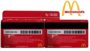 harga Voucher makan McDonald (Mcd restorant) Tokopedia.com