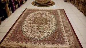 Karpet Permadani Klasik IMPORT Original Turkey Turki Bahan Sutra
