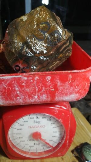 bahan batu akik garut pancawarna 30-27-15