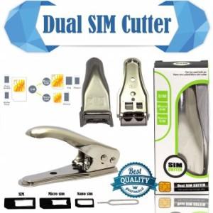 Dual Sim Cutter (Alat Pemotong SIM Card = Micro SIM, Nano SIM)