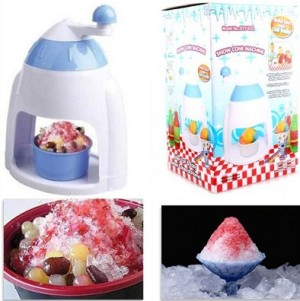 alat mesin manual serut es penyerut ice cream snow cone machine maker