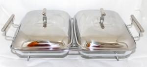 harga hidang makanan Weston Deluxe Twin Rectangular Food Warmer Tokopedia.com