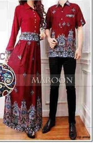 Jual Baju Couple Gamis Gaun Muslim Modis 9595 Shophw