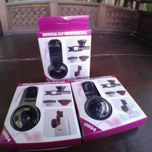 Lensa Handphone Superwide 0.4x Model Jepit universal