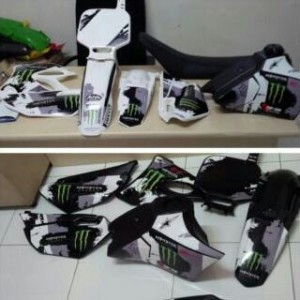 harga Body set yamaha yz85 + decal Tokopedia.com
