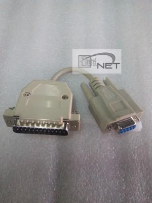 harga kabel Conector / konektor serial port adaptors DB9 female ke DB25 male Tokopedia.com