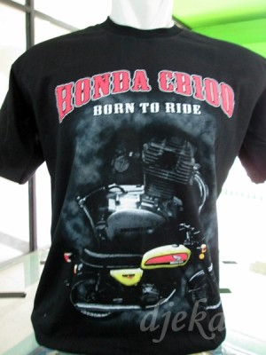 harga Kaos Motor Honda CB 100 - Born To Ride Tokopedia.com