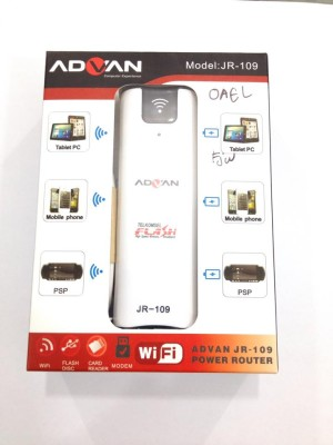 harga Advan Modem Gsm Unlock JR-109 Wifi Router + Powerbank 2200mAh Tokopedia.com