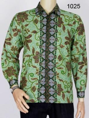 Jual Kemeja Batik Lengan Panjang  Batik Pria Modern 1025