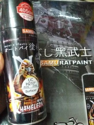 harga Cat Semprot Samurai Surfacer-UC H210 Tokopedia.com