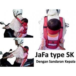 harga JaFa Sabuk Bonceng Motor Standar + Sandaran Kepala Tokopedia.com