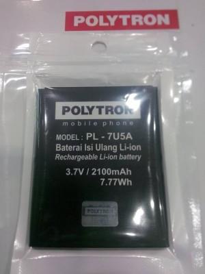 Baterai Polytron W 2500 Wizard Twins 5.0 ( Baterai/Battery/Batre )