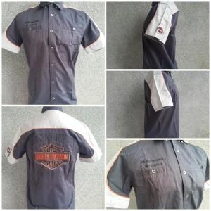 Kemeja Harley Davidson 99082 Charcoal