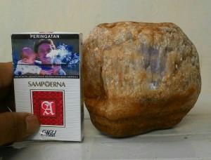 batu bahan bongkahan kecubung ungu / amatis 1.8kg