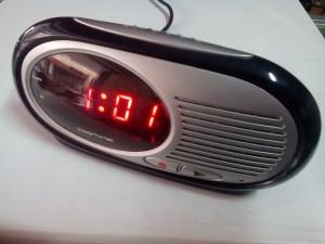 Jam Meja Digital LED Merah 0625 (rekam suara utk alarmnya)