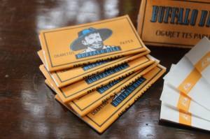 Papir Buffalo Bill Cigarette Paper Kertas Linting Rokok