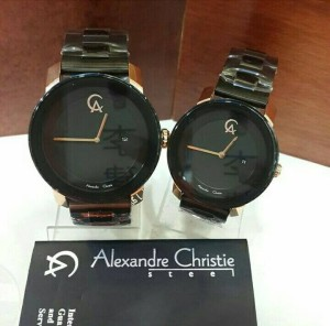 Alexander Christie 8357 rosegold black couple original