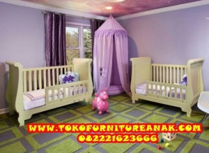 set perlengkapan kamar tempat tidur bayi - ranjang box baby tafel crib