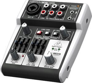 Mixer BEHRINGER XENYX 302 USB dengan USB /Audio Interface