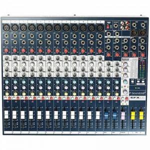 Audio mixer  efx 16 soundcraft  20 channel