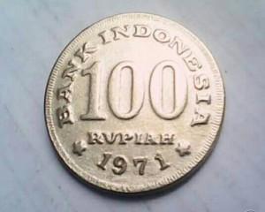 harga Uang Koin Kuno Rp. 100 tahun. 1971 Tokopedia.com
